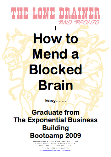 Solution For a Blocked Brain