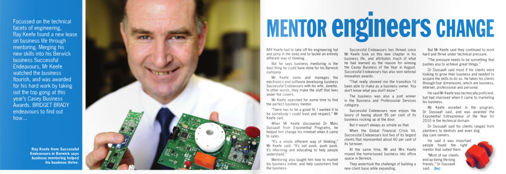Business South East Magazine - Article