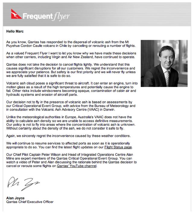 Qantas, Copywriting, Exponential Programs