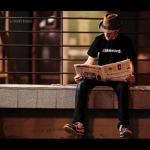 Reading a Newspaper, Newspaper Advertising