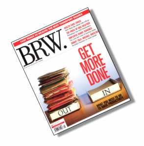 BRW Magazine Cover, BRW, BRW Cover, Get More Done