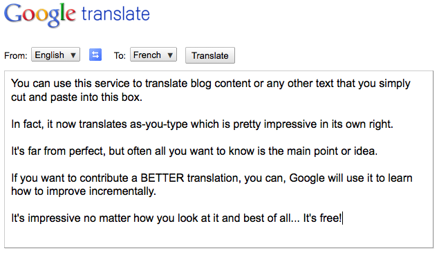 Google Translate -1