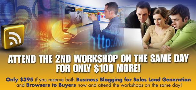 Blogging Workshop, How To Blog, Blogging For Business, Business Blogging