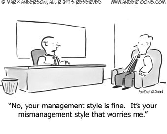Management Style Cartoon