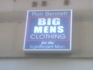 Big Mens Clothing For The Significant Man