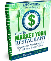 Dr Marc Dussault -How To Market Your Restaurant-1