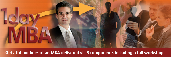 Exponential Programs - 1 Day Mini MBA - Email Banner Generic
