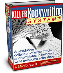 Dr Marc Dussault - Killer Kopywriting System