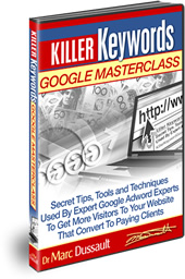 Komponent #3: Killer Keywords Google MasterClass