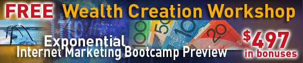 Exponential Programs - Wealth Creation Event Banner