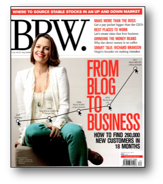 Blog, Blogging, BRW, BRW Magazine, Small Business Blogging