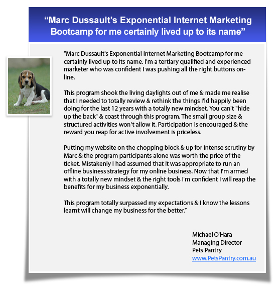 Exponential Internet Marketing Bootcamp