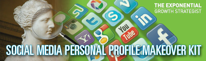 Social Media Personal Profile Makeover Kit - Banner 675